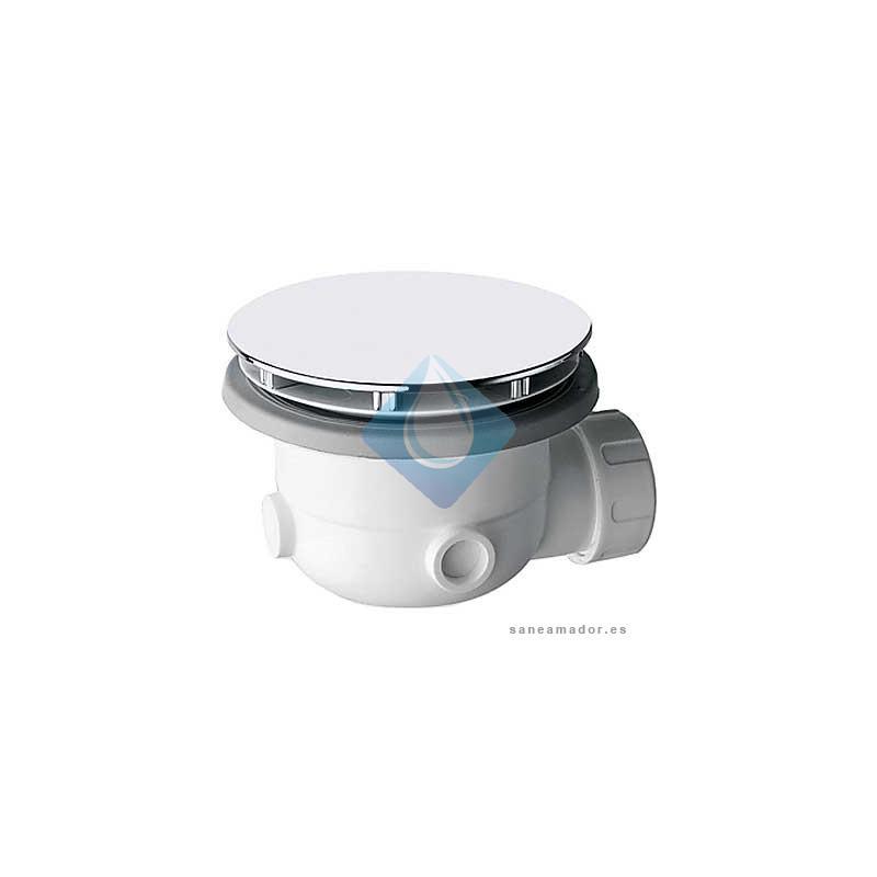 Calentadores solares colocar desague plato ducha for Desague plato ducha