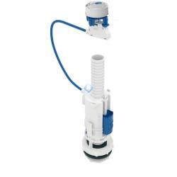 Mecanismo descargador cisterna doble pulsador